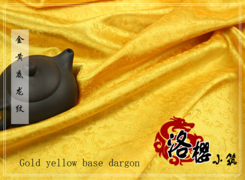 Dragon Ancient Costume Chinese Clothing Brocade Cos Silk Satin  Sewing Fabric