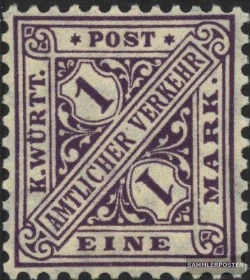 Ordentlich Württemberg D236 Postfrisch 1906 Ziffern In Schildern Verkaufspreis