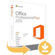 Microsoft Office Professional Plus 2016 versión de descarga