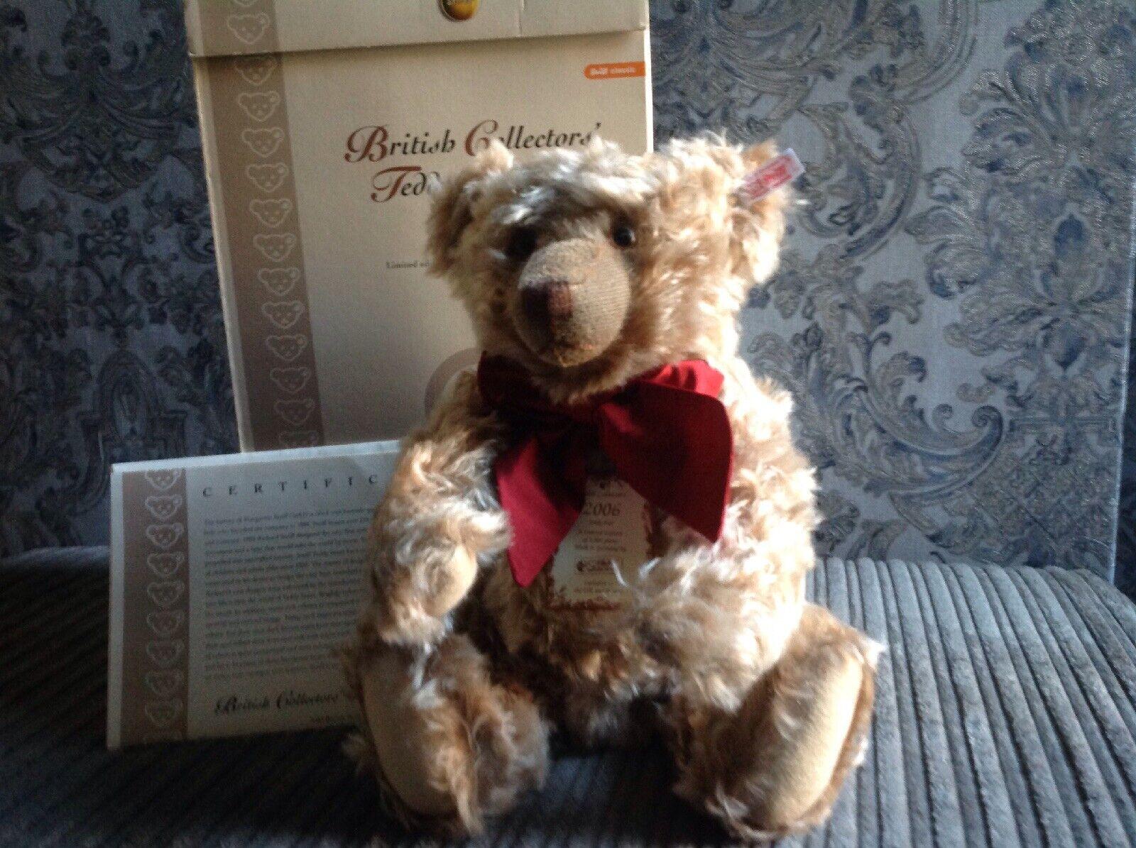 Steiff British Collectors Bear 2006, Old braun Bear.