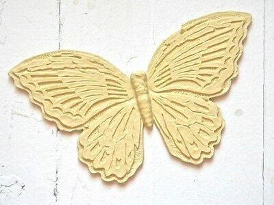 FURNITURE ARCHITECTURAL APPLIQUES BUTTERFLY-WOOD & RESIN-STAINABLE-PAINTABLE-NEW