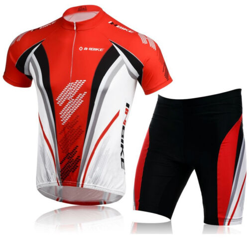 Red Men/'s Cycling Jersey Tights Shorts Cycle Gear Cycling Clothing Summer