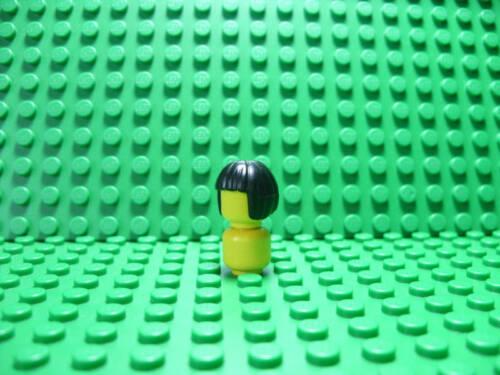 - short black female hair Lego NEW Hair