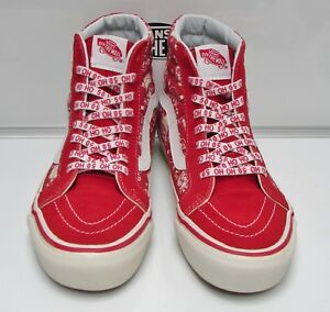 e90cb4b1621a Vans Old Skool 36 (50th Anniversary) Stv Pirate Santa Red Men s Size ...