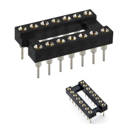 S067-20 piece IC Socket//Socket 16 Pole präzisonsfassung 16 Pin Sockets