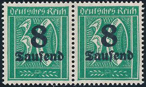 DR-1923-MiNr-278-V-tadellos-postfrisch-gepr-Infla-Mi-170