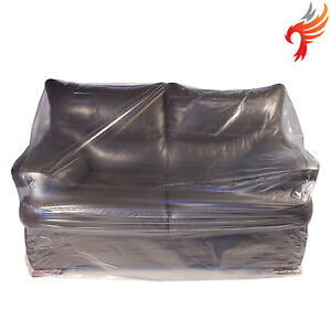 Tremendous Details About Sofa Settee Armchair Protector Dust Cover Polythene Plastic Bag Removal Storage Beutiful Home Inspiration Semekurdistantinfo