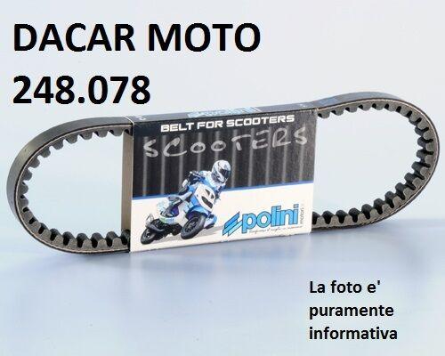 248.078 CINTURÓN CAMBIADOR POLINI PIAGGIO NRG DD alimentación