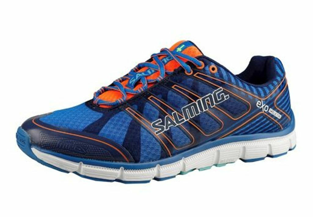 NEW Uomo SALMING MILES RUNNING/TRAINING SHOES -12 / EUR 46 2/3 - AUTHENTIC BLUE