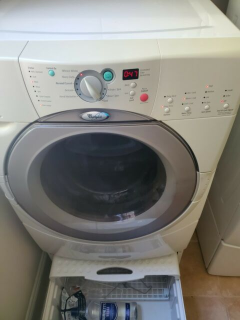 White Yellow Washer Dryer Trim 3951009