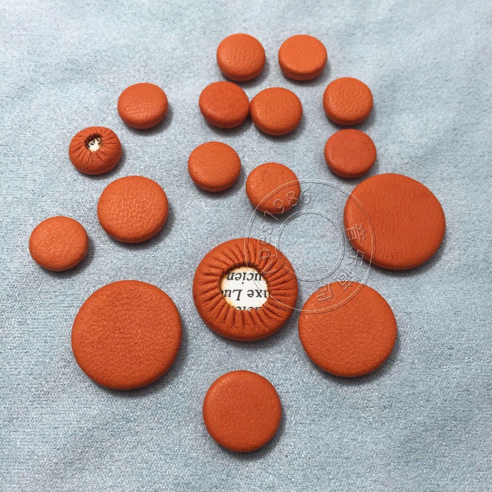 200 PC Ausgezeichnete Klarinette Leder tolles Material Orange Farbe