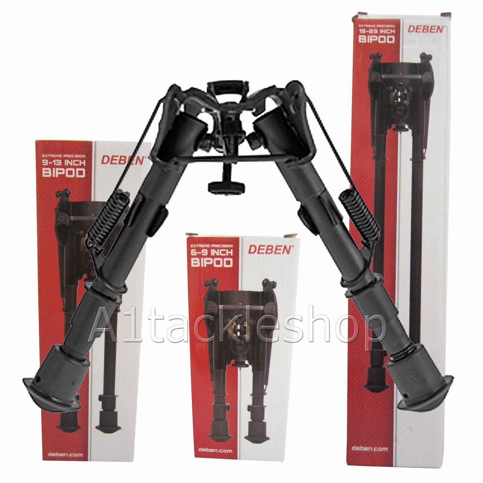 Deben Extreme Precision 6 -9  Fixed Telescopic Folding Rifle Bipod