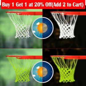 New Basketball Hoop Net Glow In The Dark Outdoor Sports Nylon Basketball Hoop
