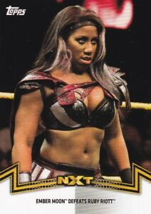 2018-Topps-Wwe-de-Mujer-Division-Mapas-Momments-NXT-13-Ember-Moon
