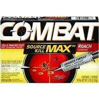Factory Case Of 12 Combat Max Roach Killing Gel- Source Kill 51963 Garden