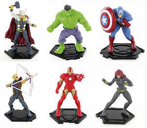 Marvel Super Hero Squad Cake Topper