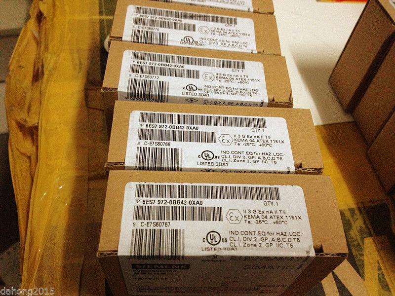 Frt   NEW IN BOX SIEMENS PLC 6ES7972-0BB42-0XA0