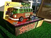 Rat Fink Autoworl Ultra Xtraction 65 Green Samba Vw Bus Ho Slot Car Fits Afx