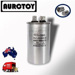 Motor condensador//funcionamiento condensador 50//60hz 25uf//µf cbb65 450vac contenedor de metal