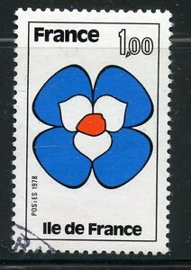 Timbre France Oblitere N° 1991 Ile De France Complete In Specifications Stamp