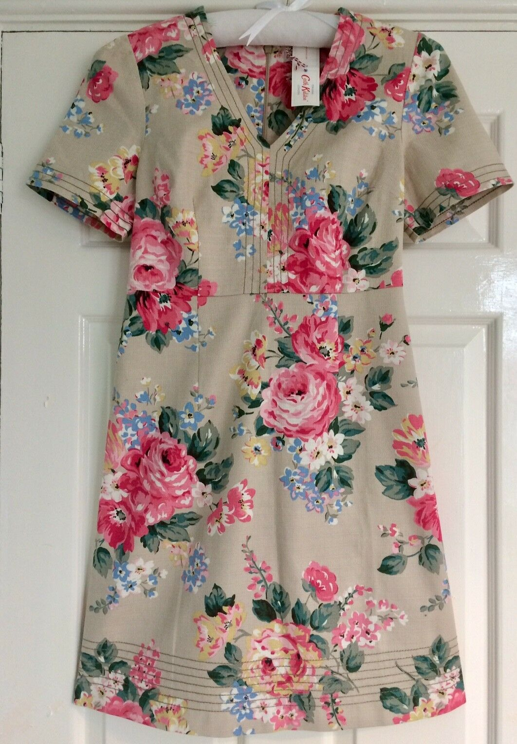 AUTHENTIC CATH KIDSTON NORFOLK pink DRESS - 10 - RRP  - BNWT