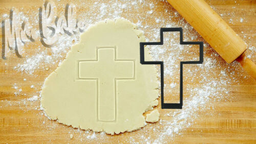 Cross 2 Cutter Gâteau Décoration Pâtisserie Pâte Biscuit