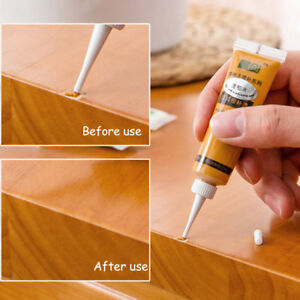 Wood Furniture Touch Up Kit Marker Cream Wax Scratch Filler Remover