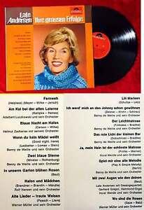 LP Lale Andersen: Ihre grossen Erfolge (Polydor 46 773) D