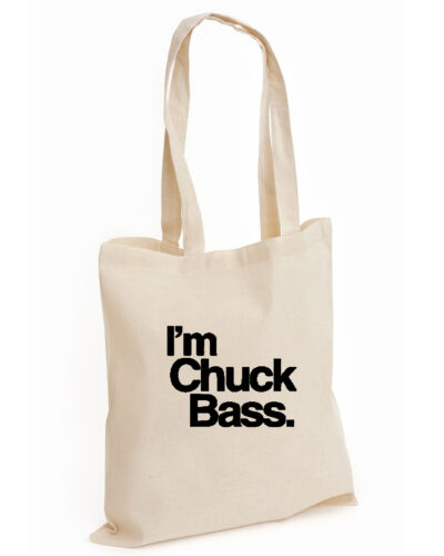 I/'M CHUCK BASS FASHION COTTON TOTE BLAIR DOPE SWAG WESTWICK TUMBLR BASS, BAG