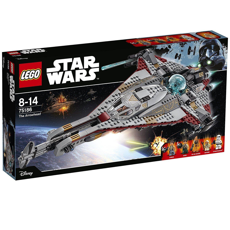 LEGO 75186 Arrowhead - estrella guerras 8-14anni Pz  775  centro commerciale online integrato professionale