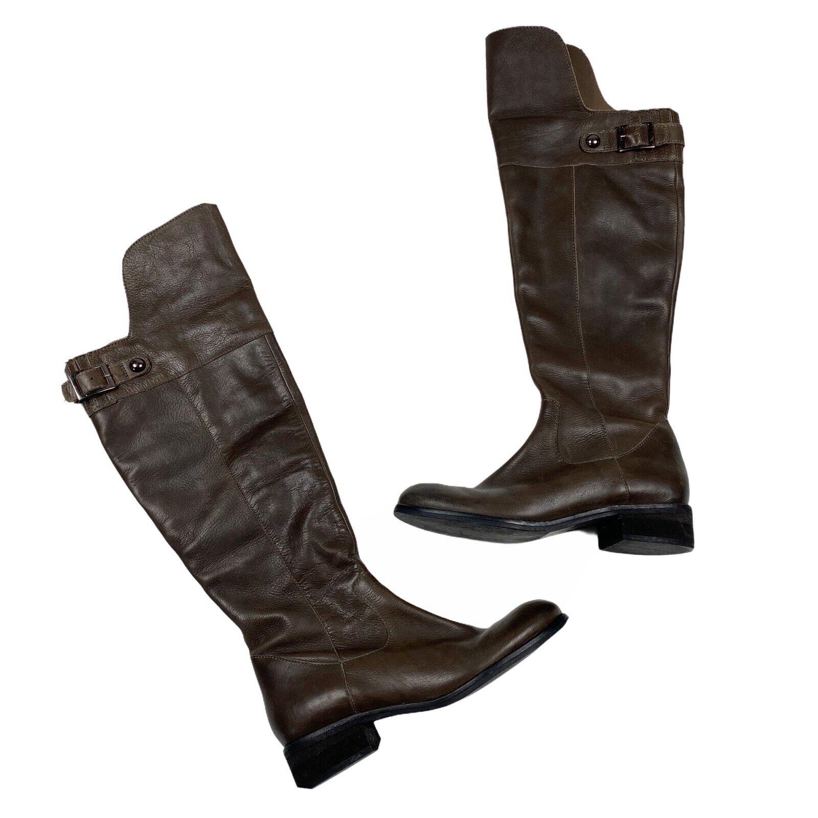 Seychelles Tall Dark Brown Espresso Riding Boots Womens Size 7.5