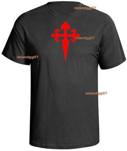 Croix Saint James croisé T-shirt Chemise Tailles S-5XL