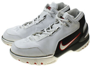a4ee3db8798 2003 Lebron1 Nike Air Zoom Generation White OG AZG Size 9 308214-111 ...