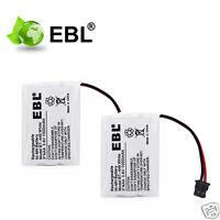 2x 3.6v 1000mah Ni-mh Battery For Er-p512 Bt-446 Bt-1005 Cordless Phone Battery