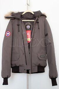 Canada-Goose-Chilliwack-Bomber-Jacket-Graphite-Size-Large-L-Brand-New