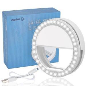 e06311505f1 Selfie Light Ring LED - Flash Clip Camera - iPhone HTC Samsung ...