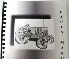 International Farmall Farmall H Tractor Parts Manual