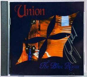 CDUNION - THE BLUE ROOM - AUTOGRAPHED BY BRUCE KULICK- KISS MERCHANDISE C612601