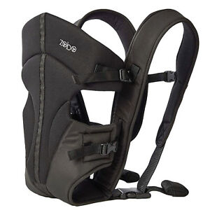 "Babies ""R"" Us Zobo 3 Position Black Baby Carrier Backpack with Adjustable Straps 190587012418"