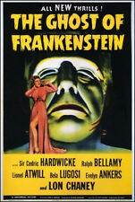 """The Ghost of Frankenstein Movie Poster  Replica 13x19"""" Photo Print"""