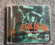 Evil Dead Hail to the King Sega Dreamcast used