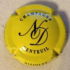 Capsule de champagne NIZIOLEK-DEHU (2. jaune et noir)