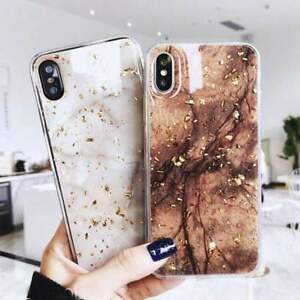 For-iPhone-8-7-Plus-XS-Max-XR-Marble-Shockproof-Silicone-Protective-Case-Cover