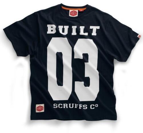 Scruffs Graphic Crew Neck Cotton Short Sleeve T-Shirt Work Work FREE BELT