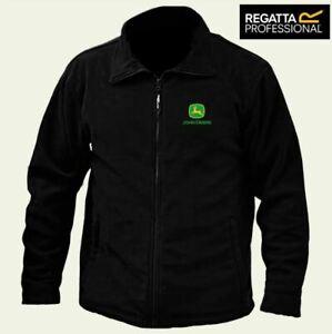 JOHN-DEERE-Regatta-Zipper-Fleece-Jacket-Embroidered-Logo-BEST-QUALITY