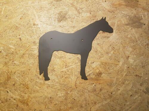 Quarter Horse pulverbeschichtet oder in Edelrost Wandbild