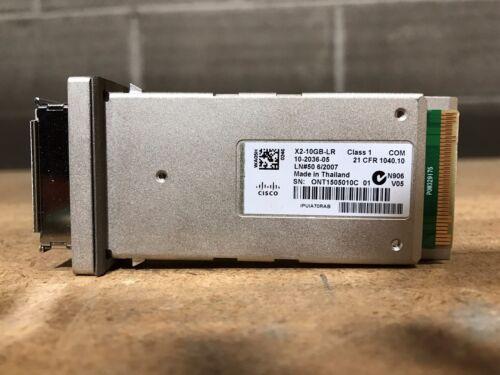 CISCO Genuine Original X2-10GB-LR Cisco 10GBASE-LR X2 Module **1 year Waranty**