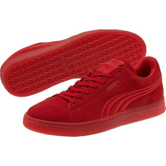 PUMA Suede Iced Junior, Fashion Sneaker, High Risk Red