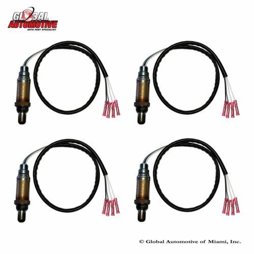 Set of 4 New Bosch Oxygen O2 Sensor for 2000-2006 BMW X5 3.0L 4.4L 4.6L