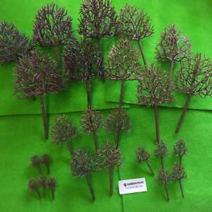 Tall Deciduous Tree Frames - Model Scenery Armatures Railway Layout Forest OO/HO